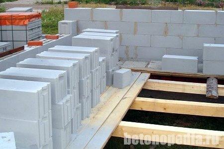 Сравнение свойств ячеистых видов бетона.