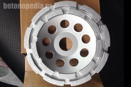 шлифовальный диск для бетона
